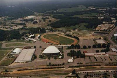 Fairgrounds aerial