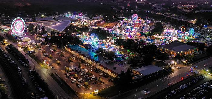 Aerial Fair 2019