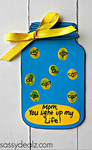 LIghtning Bug Card